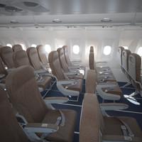 Airbus A320 Economy Class Interior