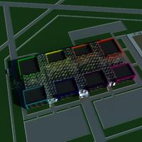 maya block building