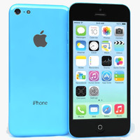 apple iphone 5c blue cd