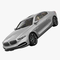 3d bmw gran lusso coupe