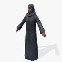 3dsmax games arabic civilians female