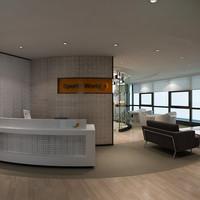 opens interior 3d max