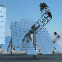 solar panel 3d max