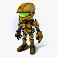 SciFi Cartoon Trooper V2