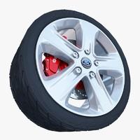 sport wheel 3d max