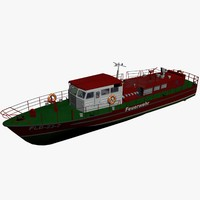 Firefighting Boat 23