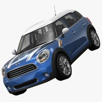 3ds max bmw mini cooper d