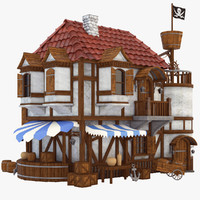 obj pirate house