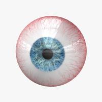 3ds max human eye