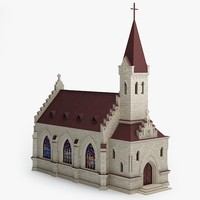 3ds max church cathedral