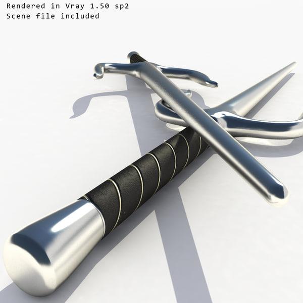 3d models gt ordnance gt weapons gt bladed weapon gt sai