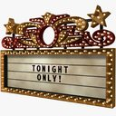 Theater Sign 3D models