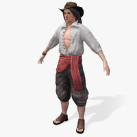3ds max pirates smuggler real-time
