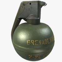 3d m67 grenade