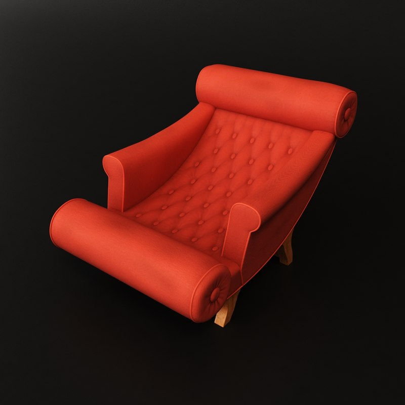 Max adolf loos chaise lounge for Chaise quadriceps
