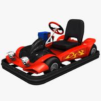 3d model electric kart