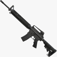 M16 A4 Assault Rifle 3D models