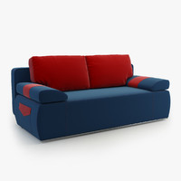 sofa julie 3d model