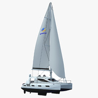 3dsmax sailing yacht