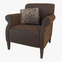 3d model armchair eichholtz club