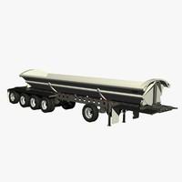 3d model dump smithco sx5-4636 trailer