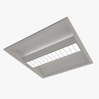 3d office ceiling lamp
