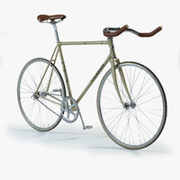 Track bicycles 3D models