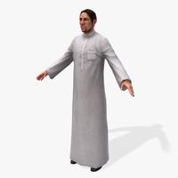 3dsmax games arabic civilians male