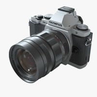 Olympus OM-D Mirrorless camera with Voigtlander Lens