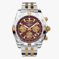 maya breitling chronomat mirage red