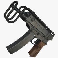 vz 61 skorpion 3d model