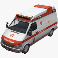 3d ambulance ready