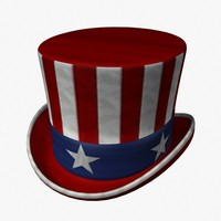 3ds max hat stars stripes
