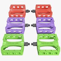 3d bike pedals bmx