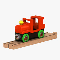 toy train 3d 3ds