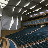 auditorium theater 3d model