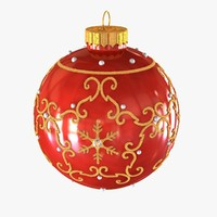 3ds max christmas ball