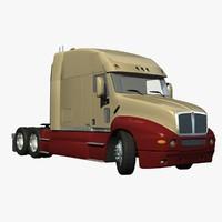 t2000 truck 3d lwo