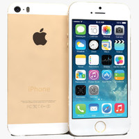 apple iphone 5s gold obj