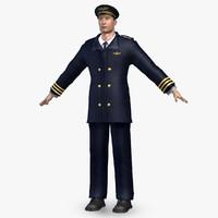 airliner pilot 3d 3ds