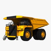 3d model 797f truck