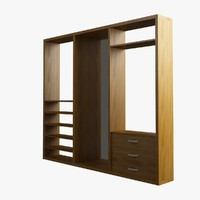 max dresser wood glass
