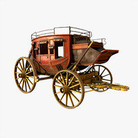 concord stagecoach 3d model