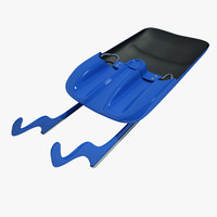 Luge Sled Doubles 01