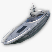 3d max luxury yacht