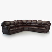 long corner sofa osvald 3d model