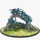 alien plant 3D models