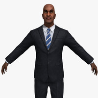 Businessman 02 B (Rigged)