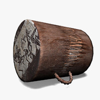 max handmade african drum