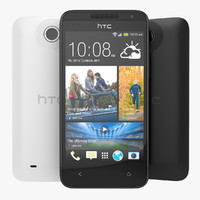 HTC Desire 300 Black and White Smartphone